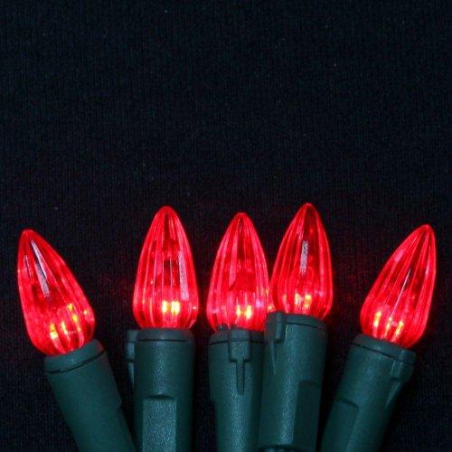 Martha Stewart Living Red Led C3 Crystal 50-Light Set