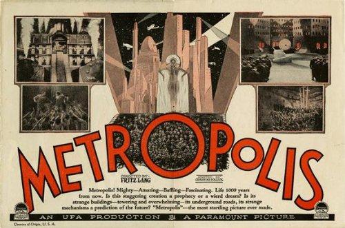 """Metropolis 27,94 43,18 cm x (11""""), 28 x 17 x 44 cm, motivo: Film Poster"""