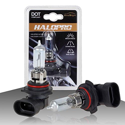 HaloPro High Performance 2pcs 9006 HB4 12V 55W Headlight Low Beam Halogen Bulb Night White For Toyota / Dodge /Honda (Honda Accord 2000 Halogen compare prices)