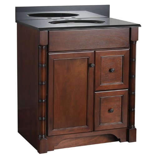 Foremost ESNA3021DR Estlin 30-Inch  Bath Vanity - Right Side Drawers
