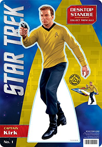 Aquarius Star Trek- Kirk Desktop Standee - 1