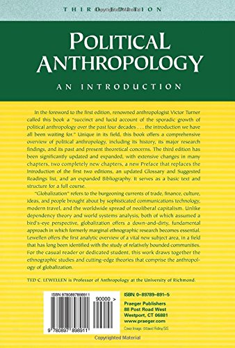 Political Anthropology: An Introduction