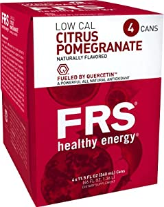 Frs Healthy Energy Citrus Pomegranate Drink, 11.5-Ounce Cans (Pack of 24)