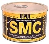 Body Filler U-Pol SMC PLASTIC BUMPER GLASS FIBRE FILLER BLACK 1.1 Litre kit