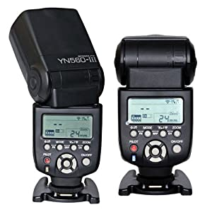 YONGNUO YN560 III Wireless Flash Speedlite For Canon Nikon Pentax Olympus 560III