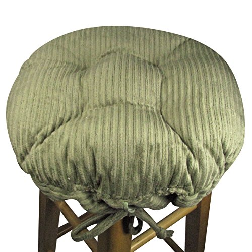 13 Round Bar Stool Cover With Adjustable Drawstring Yoke