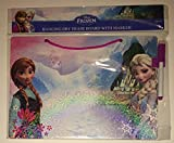 Disney Frozen Hanging Dry Erase Board with Marker Princess Anna and Queen Elsa