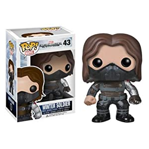 Funko POP Heroes: Captain America Movie 2 - Soldier Unmask Action Figure from Funko