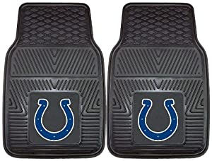 FANMATS NFL Indianapolis Colts Vinyl Heavy Duty Vinyl Car Mat by Fanmats