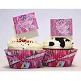 Amscan International Princess Cupcake Kit (48 Pieces)