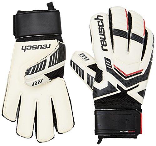 Reusch guanti da portiere per adulto Reload Prime M1, Unisex, Torwarthandschuhe Reload Prime M1, bianco, 8