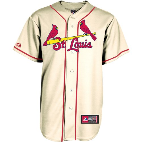 Majestic Men's St. Louis Cardinals Replica Generic Alternate Jersey Extra Large at Amazon.com