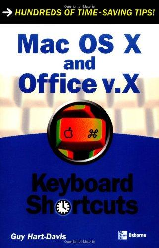 Mac OS X and Office v.X Keyboard Shortcuts