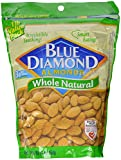 Blue Diamond Almonds Whole Natural, 16 oz.