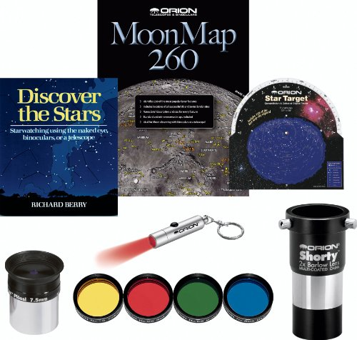 Orion Planetary And Lunar Explorer Astronomy Accessory Kit