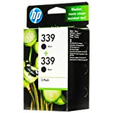 HP 339 - 2-pack - black - original - ink cartridge
