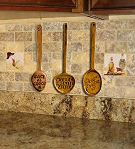 italian kitchen decor spoon wall decor set