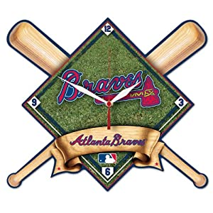 MLB Atlanta Braves High Definition Clock by WinCraft