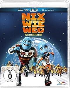 Nix wie weg - vom Planeten Erde  (inkl. 2D-Version) [3D Blu-ray]