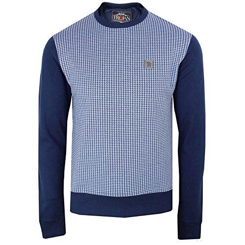 trojan-records-herren-pullover-blau-navy-one-size-gr-xxl-navy