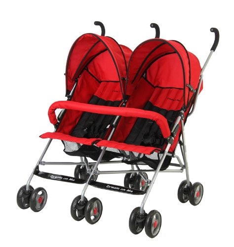 The cheap double stroller - Dream On Me Double Twin Stroller