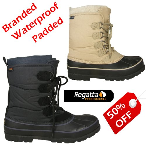 Adults Waterproof Sole Fashion Winter Snow Rain Wellington Mucker Boots Size UK 4-12