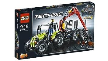LEGO - 8049 - Jeu de Construction - Technic - La Chargeuse à Bois