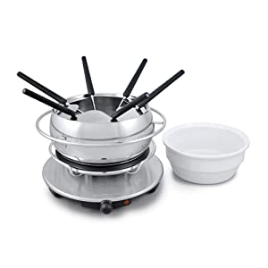 Swissmar Zurich 3-in-1 Electric Fondue Set