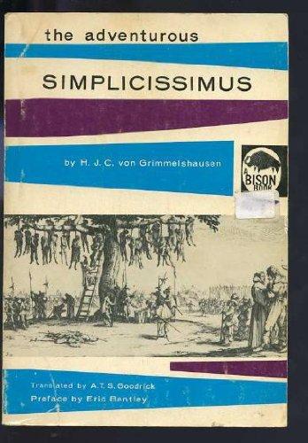 The Adventurous Simplicissimus (Bison Book)