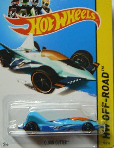 Hot Wheels 2013 Hw Off-Road Stunt Circuit Blue Cloud Cutter 79/250