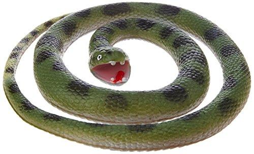 "46"" Green Rubber Anaconda"
