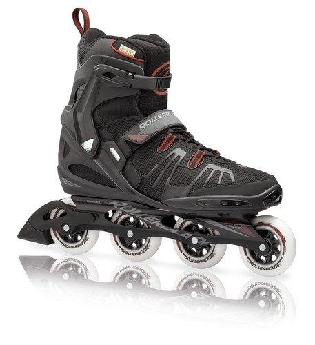 Rollerblade-Mens-RBXL-Fitness-Skate-BlackRed-Mens-US-16
