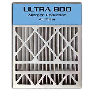 "24x25x4/24x25x5 (23.8""x24.8""x4.3"") ULTRA 800 MERV 8 Bryant Replacement Air Filter"