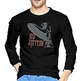 Men Led Zeppelin Exploding T-Shirts Black
