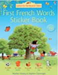 First French Sticker Book (Farmyard T...
