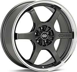 Enkei SR6- Performance Series Wheel, Gunmetal (18×8″ – 5×114.3/5×4.5, 50mm Offset) One Wheel/Rim