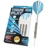 Target Darts True Play Natural Tungsten Soft Tip Darts, 18gm, Style 01