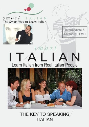 SmartItalian Audio CDs Intermediate/Advanced - Learn Italian as spoken by Real Italian People (English and Italian Edition)