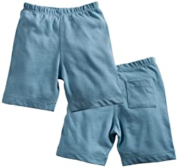Babysoy Soft Shorts , Ocean 12 18 Months