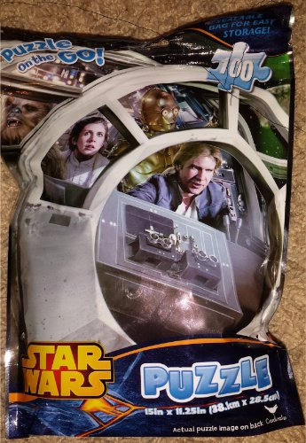 Star Wars Puzzle on the Go - Millennium Falcon - 1
