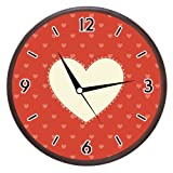 Wall Clocks - Printland Heart & Music Wall Clock