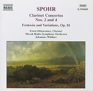 Clarinet Concertos Nos. 2 and 4