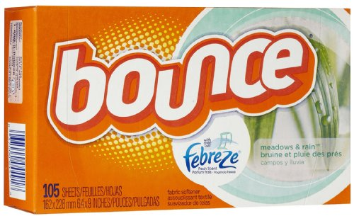 Bounce With Febreze Fresh Scent Dryer Sheets-Meadows & Rain-105 ct (Bounce Meadows And Rain compare prices)