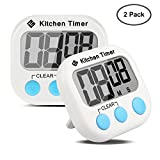 Etekcity Digital Kitchen Timer: Large LCD Display, Battery...