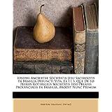 Iosephi Anchietae Societatis Jesu Sacerdotis In Brasilia Defuncti Vita. Ex I I S, Que De Eo Petrus Roterigius...