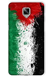 IndiaRangDe Case For OnePlus Three Printed Back Cover