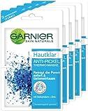 Garnier Hautklar Anti-Pickel Thermo-Maske, 12 ml, 5er Pack (5 x 12 ml)
