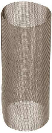 "Asahi America Sediment Strainer Replacement Mesh Screen, Stainless Steel 316, For 1"" Strainer, 20 Mesh"