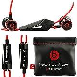 Monster Beats By Dr Dre Ibeats in Ear Headphones Earphones Black NEW