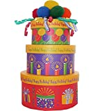 Happy Birthday To You! Snacks and Treats Gift Tower (Scheduled Delivery)